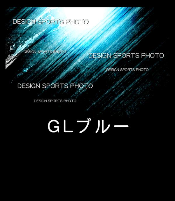 集合写真パネル 背景デザイン GLブルー