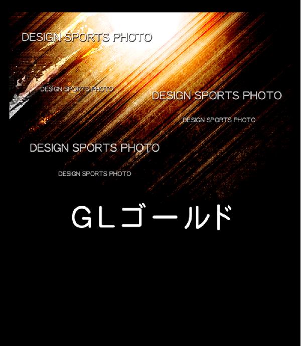 集合写真パネル 背景デザイン GLゴールド