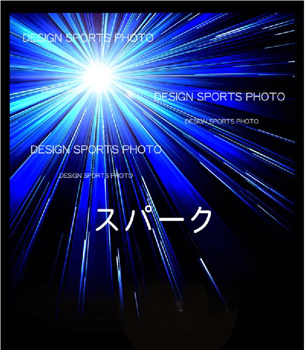 集合写真パネル 背景デザイン スパーク
