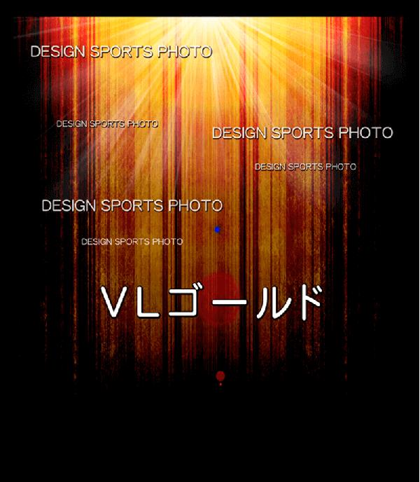 集合写真パネル 背景デザイン vlゴールド