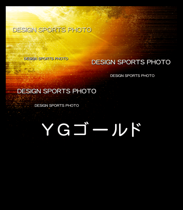 集合写真パネル 背景デザイン YGゴールド